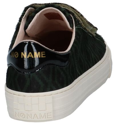 Donker Groene Sneakers No Name Arcade Straps, Groen, pdp