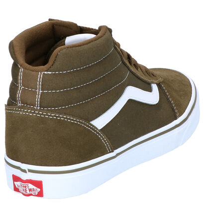 Vans Ward Zwarte Sneakers in daim (264183)