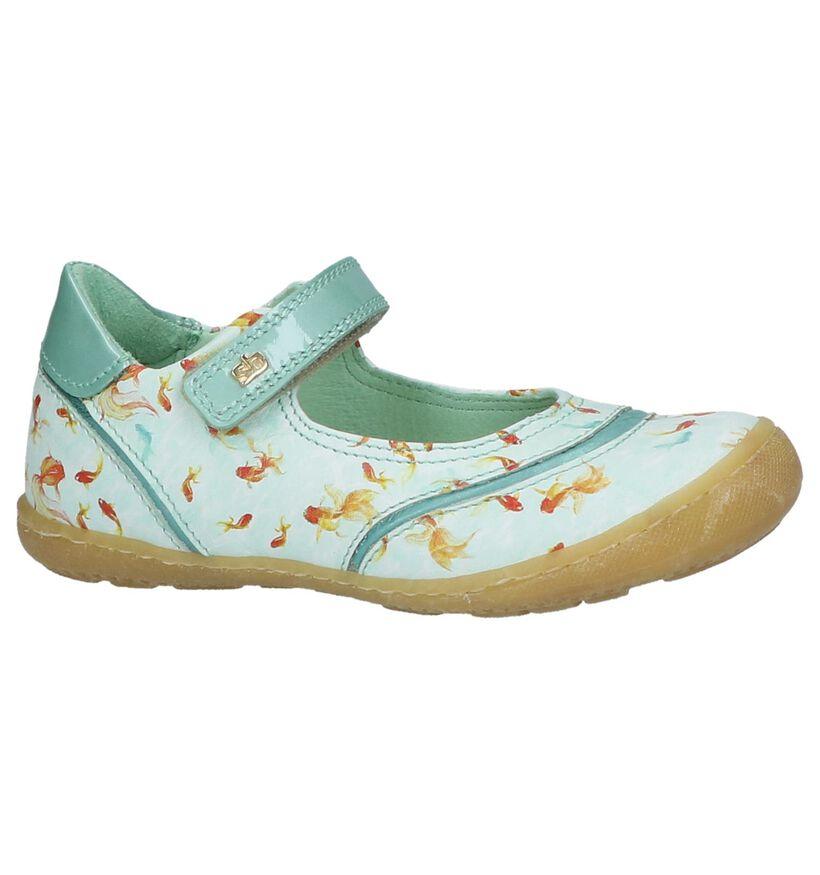 STONES and BONES Faena Turquoise Ballerina in lakleer (211545)