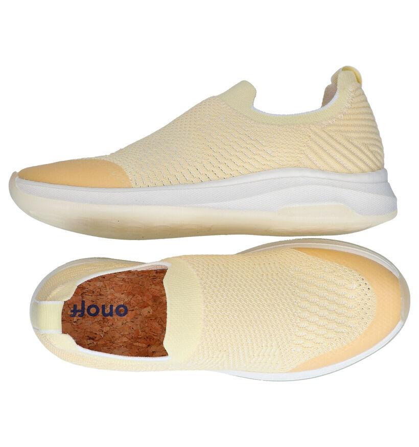 ONOFF Gusciola Zwarte Slip-on Sneakers in stof (291714)