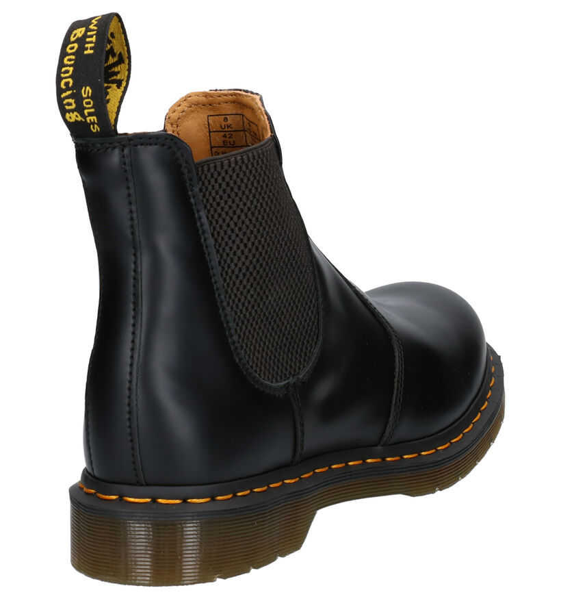 Dr. Martens Chelsea Boots en Noir en cuir (253490)