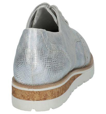 Zilveren Veterschoenen Remonte in kunstleer (210087)