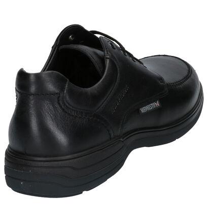 Mephisto Douk Riko Chaussures Basses en Noir en cuir (259902)