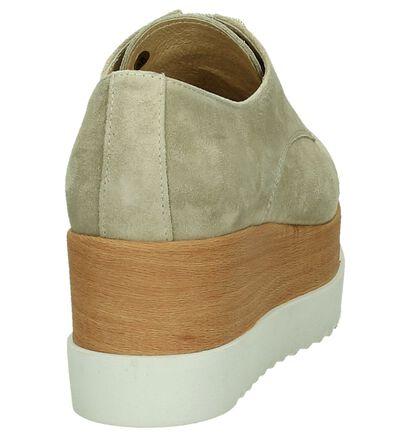 Tine's Chaussures à lacets  (Beige foncé), Beige, pdp