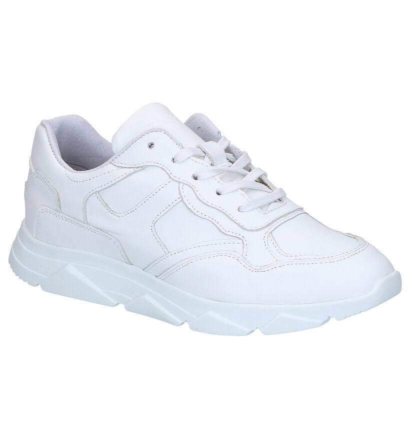 Tango Kady Fat Sneakers en Blanc en cuir (273019)