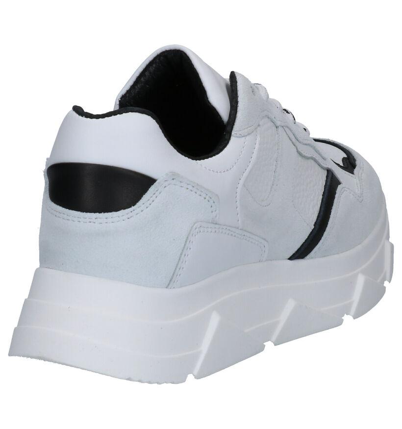 Tango Kady Fat Witte Sneakers in leer (275191)