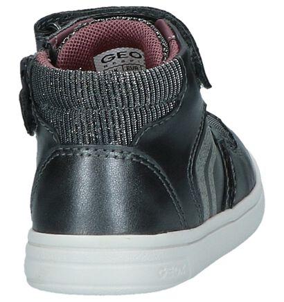 Geox Baskets hautes en Noir en imitation cuir (254488)
