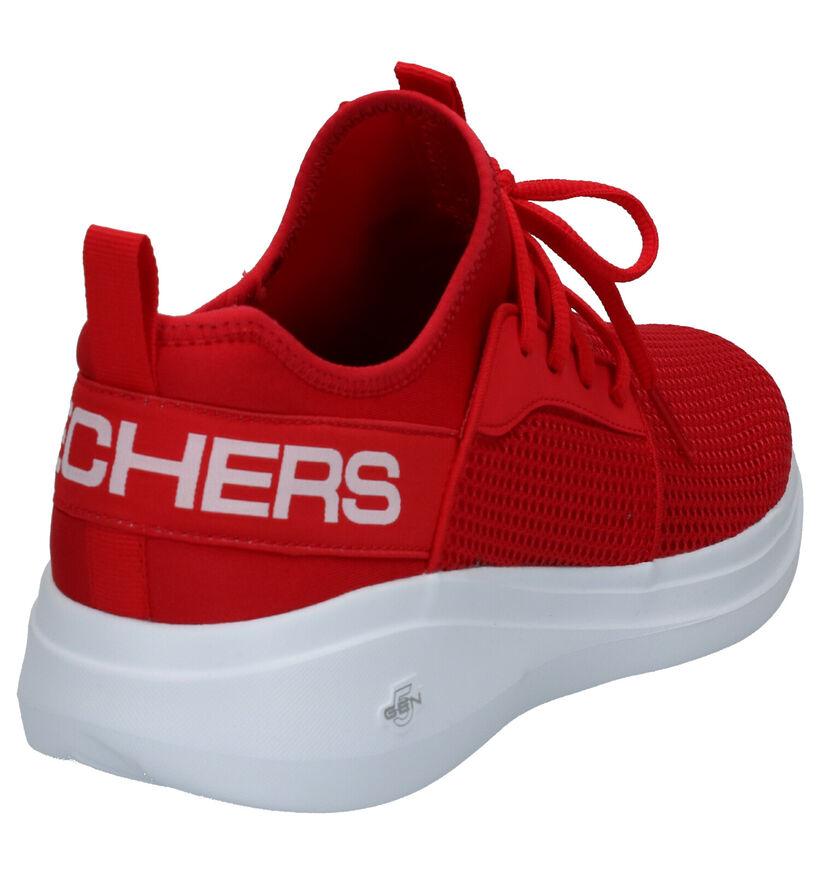 Skechers Go Run Fast Rode Slip-on Sneakers in stof (266936)