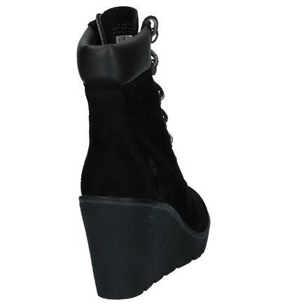 Timberland Paris Height 6 Inch Grijze Boots in nubuck (255290)