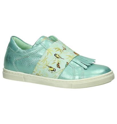 Stones and Bones Chaussures slip-on  (Blanc), Turquoise, pdp