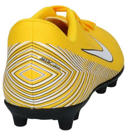 Nike Chaussures de foot en Jaune en imitation cuir (222682)