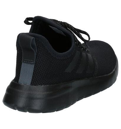 adidas Lite Racer Zwarte Slip-on Sneakers in stof (264836)