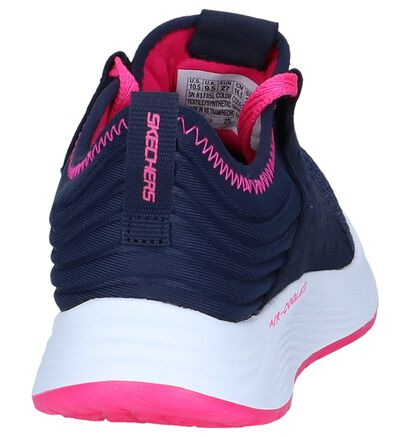 Roze Slip-on Sneakers Skechers Skyline in stof (250662)
