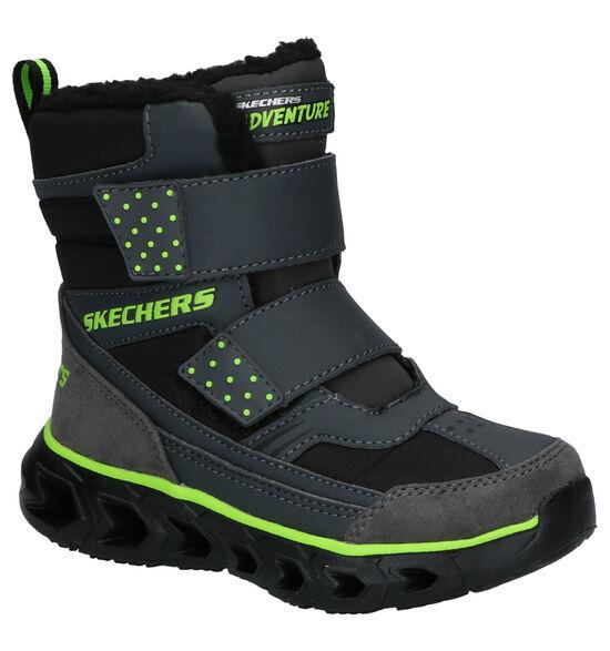 Skechers S Lights Grijze Snowboots