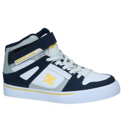 DC Shoes Skate sneakers en Bleu en imitation cuir (220886)