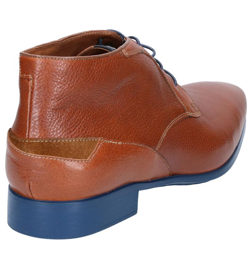 Ambiorix Chaussures habillées en Cognac en cuir (274918)