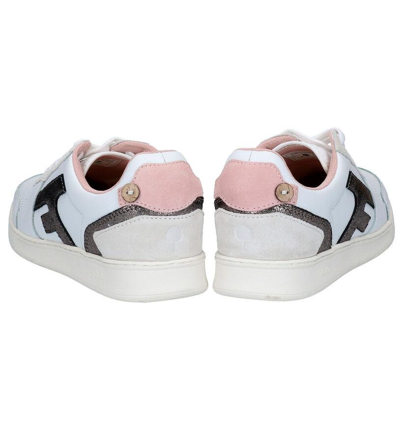 Faguo Hazel Witte sneakers in leer (281034)