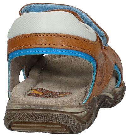 STONES and BONES Sandales en Bleu en cuir (212049)