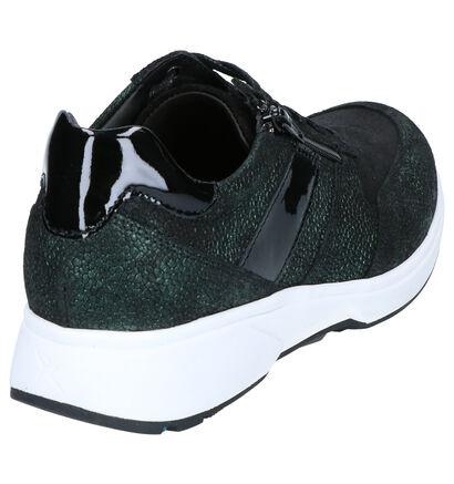 Xsensible Tokio Chaussures Basses en Vert en cuir (259689)