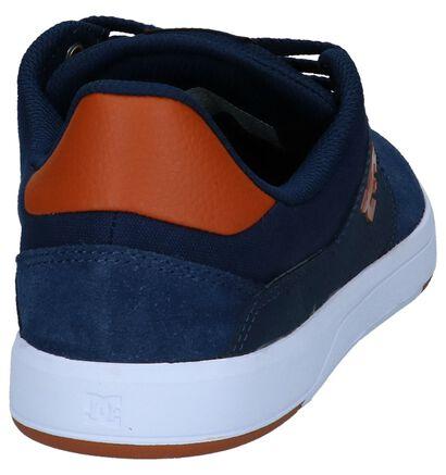 DC Shoes Skate sneakers en Bleu foncé en simili cuir (235123)