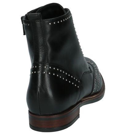 Hampton Bays Zwarte Boots met Studs in leer (201286)
