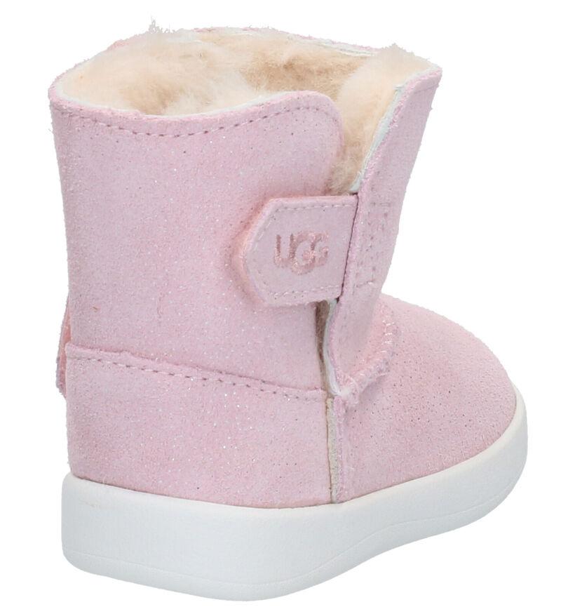 UGG Keelan Sparkle Roze Babylaarzen in daim (254110)