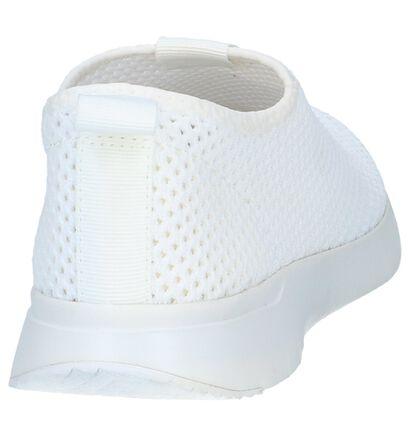 Zwarte Slip-on Sneakers FitFlop Airmesh in stof (240110)