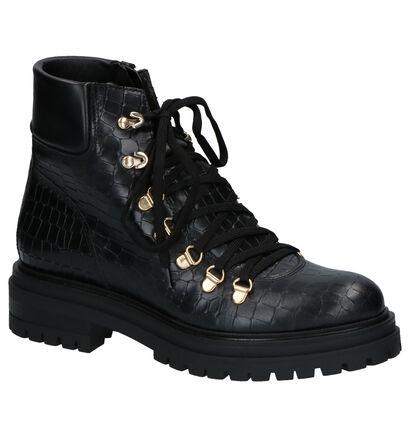 Scapa Flair Bottines en Noir en cuir (259128)