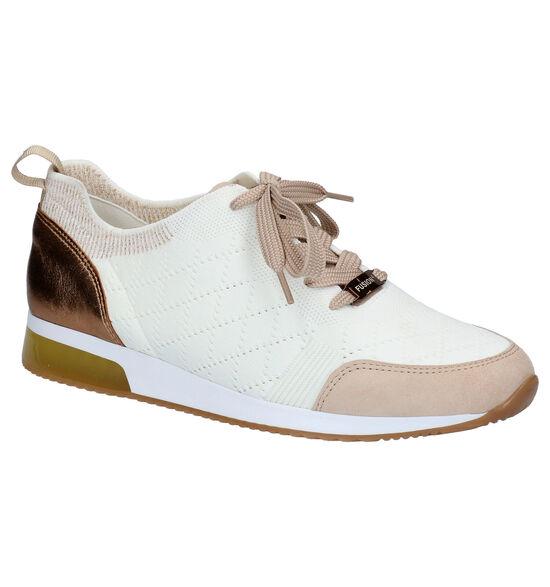Ara Lissabon Chaussures à lacets en Beige