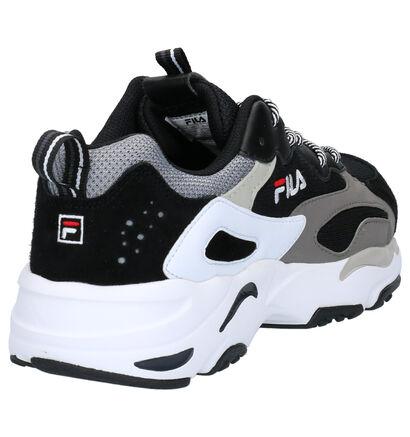 Fila Ray Tracer Zwarte Sneakers in kunstleer (253516)