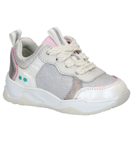 Bunnies Charlie Chunky Chaussures à lacets en Argent