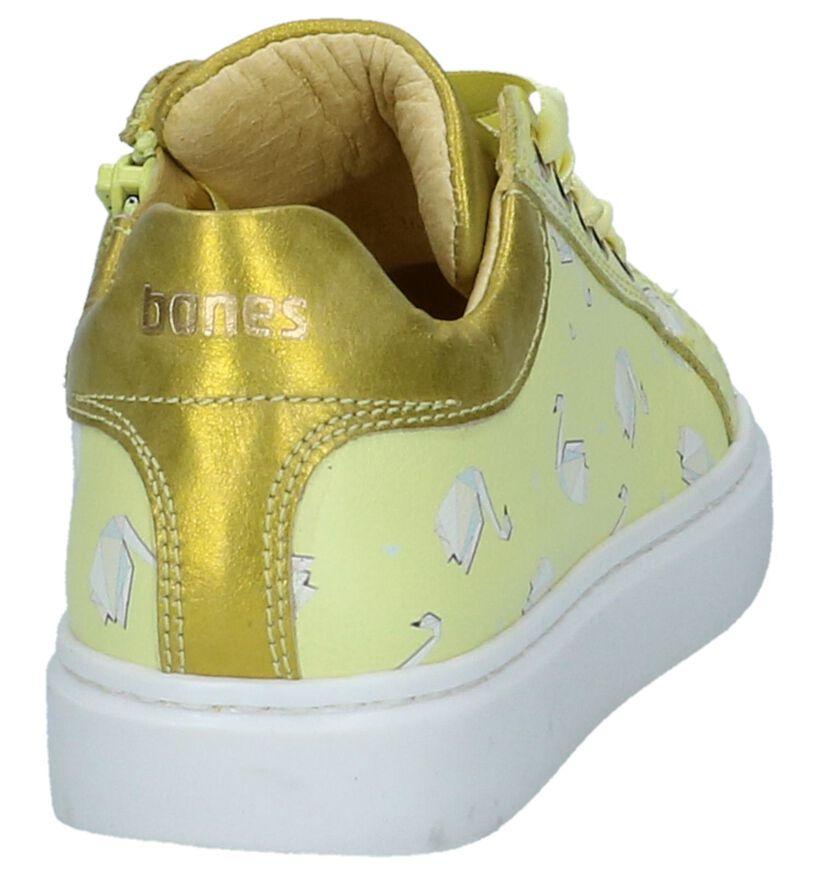STONES and BONES Flora Chaussures à lacets en Blanc en cuir (287889)
