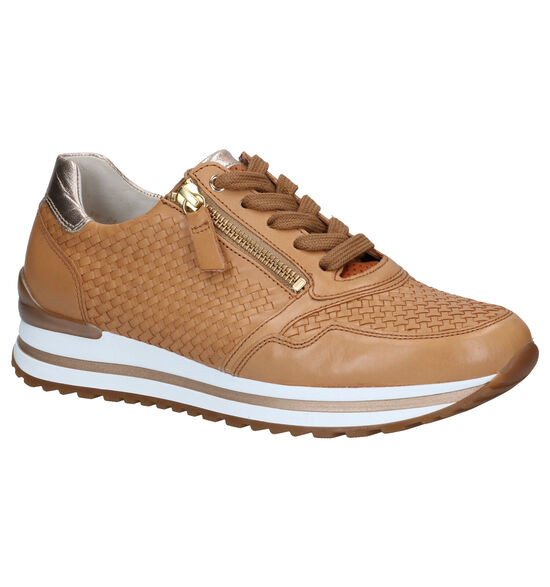 Gabor OptiFit Cognac Veterschoenen