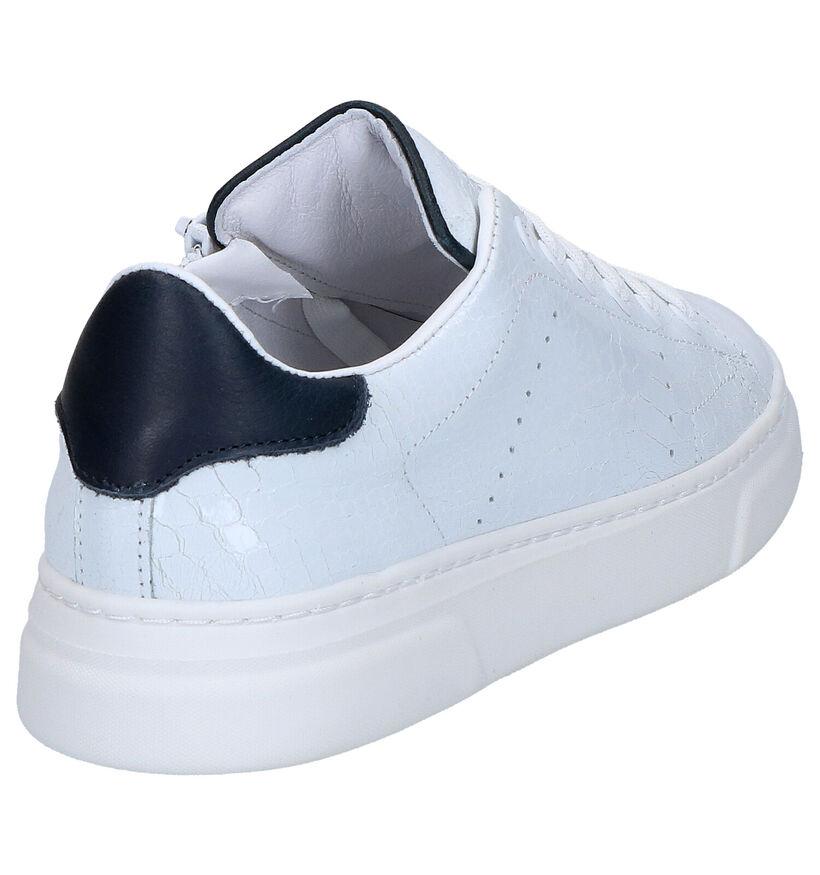 Hip Chaussures basses en Blanc en cuir (272355)