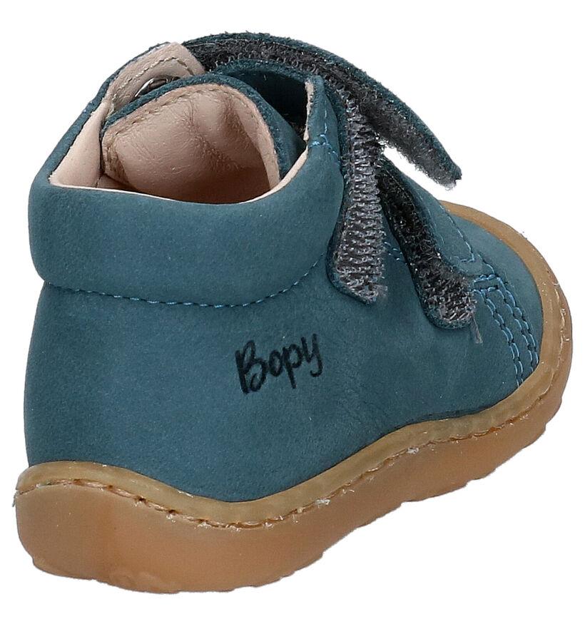 Bopy Chaussures pour bébé  en Bleu en nubuck (258083)