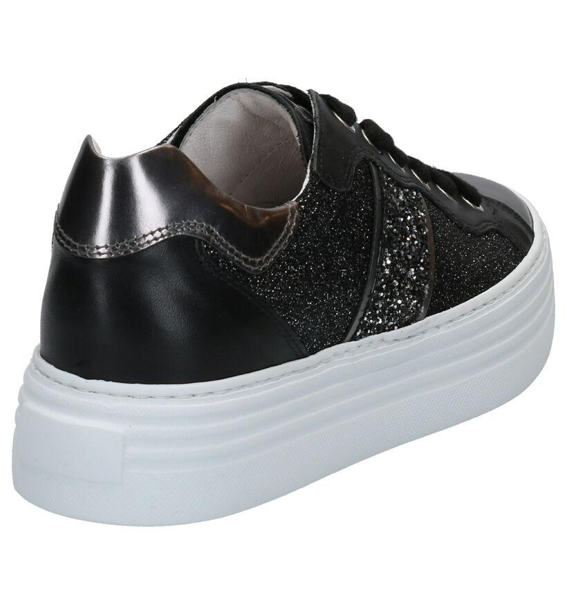 NeroGiardini Chaussures à lacets en Noir en cuir (270589)