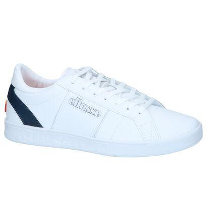 Witte Sneakers Ellesse LS-80 in leer (241637)