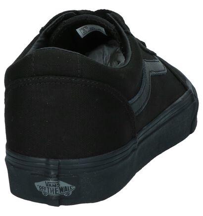 Zwarte Vans Ward Lage Skateschoenen, Zwart, pdp