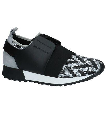 Zwarte Lage Geklede Sneakers Sixtyseven, Zwart, pdp