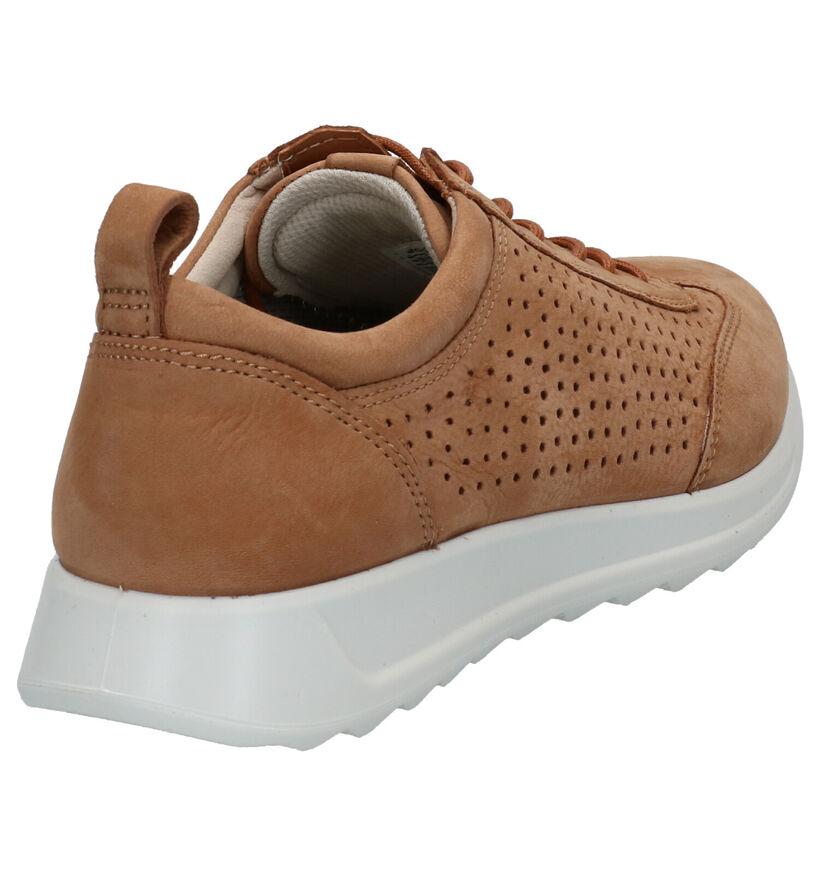 ECCO Chaussures à lacets en Cognac en nubuck (275341)