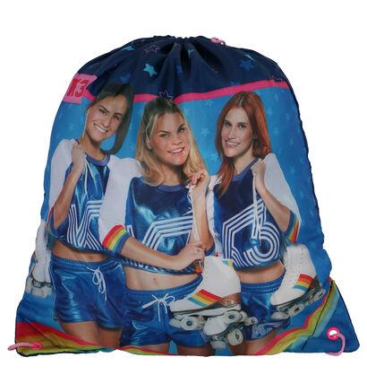 K3 Blauw Sporttasje in stof (260735)