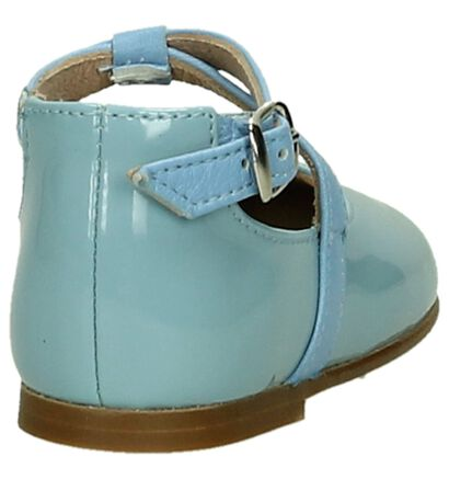 Eli Pastelblauw Babyschoentje, Blauw, pdp