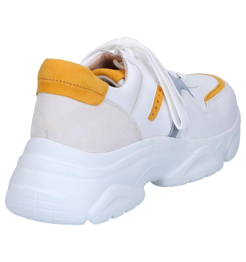 Witte Lage Sneakers Gabor Best Fitting in daim (271551)