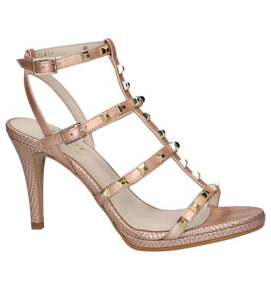 Rose Gold Sandalen High Heels Lodi Murua