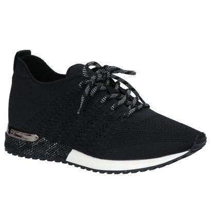La Strada Zwarte Sneakers in stof (273893)