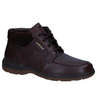 Mephisto Chaussures hautes en Brun foncé en cuir (260519)
