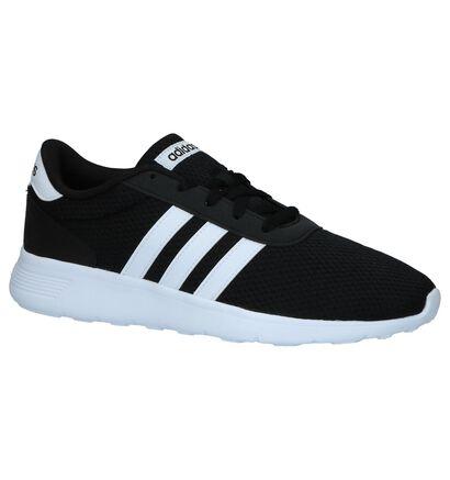 Kaki Runner Sneakers adidas Lite Racer in stof (237215)