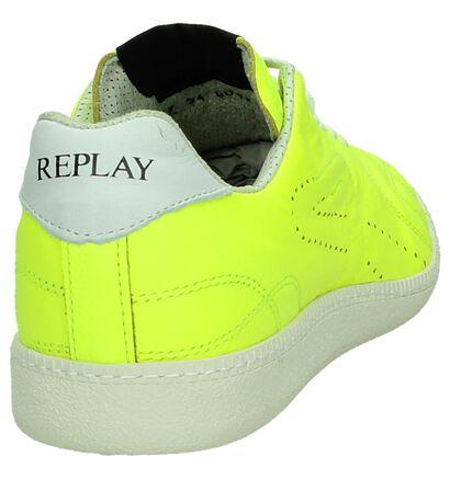 Replay Fluo Gele Sneakers, Geel, pdp