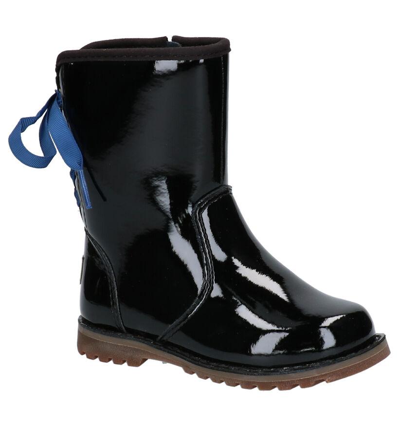 UGG Zwarte Regenlaarzen in lakleer (254112)
