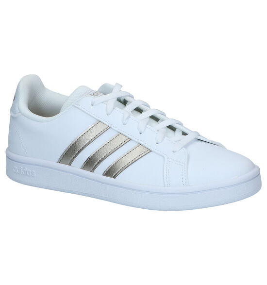 adidas Grand Court Base Witte Sneakers